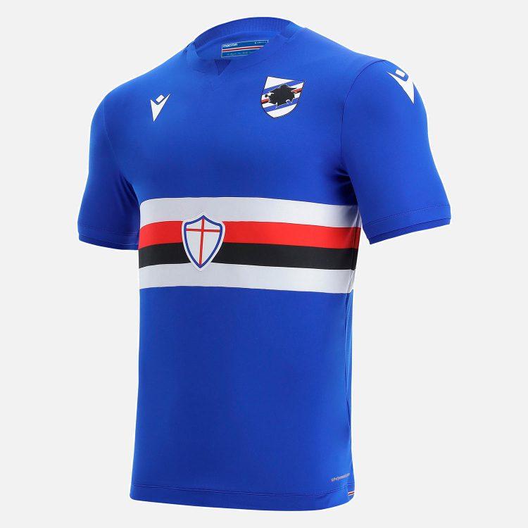 Maglia Sampdoria 2021-2022 Macron
