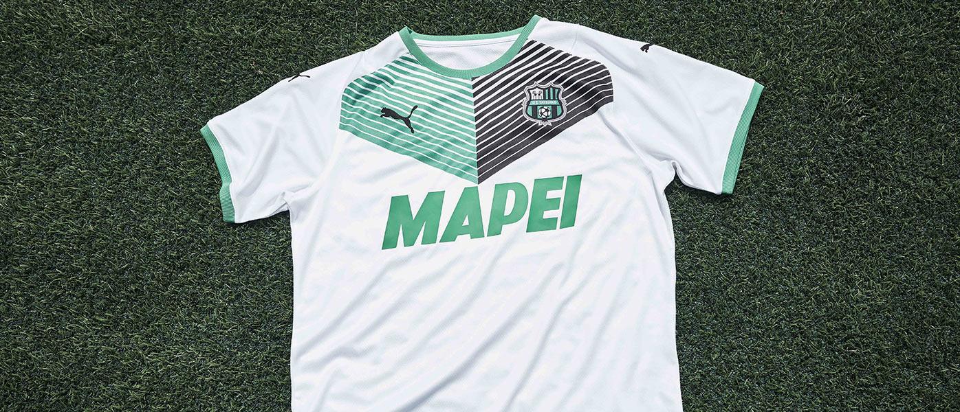 La nuova maglia away del Sassuolo 2021-2022