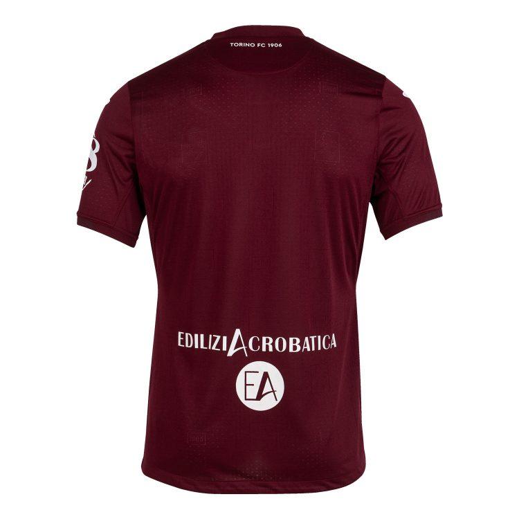 Retro prima maglia Torino granata