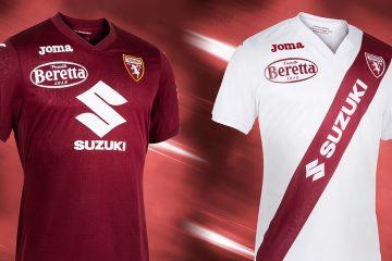 Le nuove maglie del Torino 2021-2022