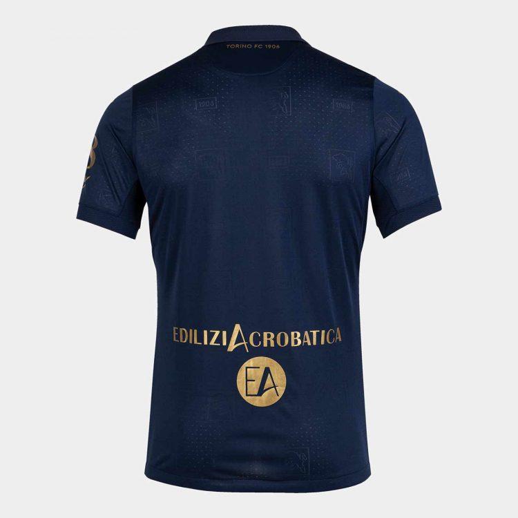 Retro terza maglia Torino blu