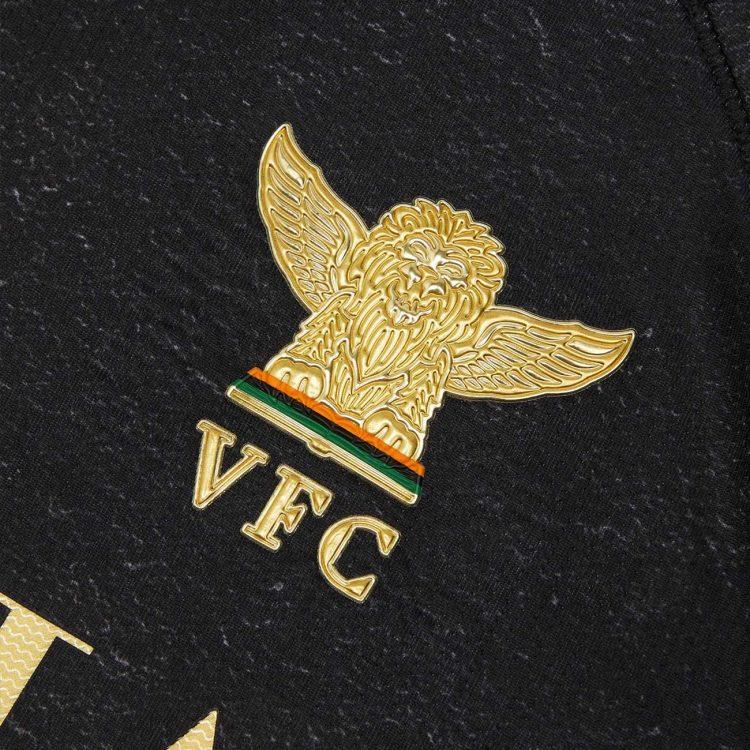 Lo stemma dorato con il leone alato, Venezia FC