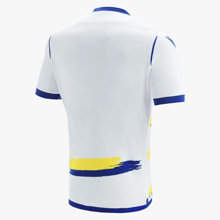 Seconda maglia Verona 2021-2022 retro