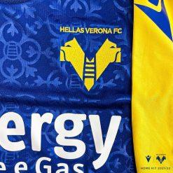 Dettaglio maglia Hellas Verona mastini
