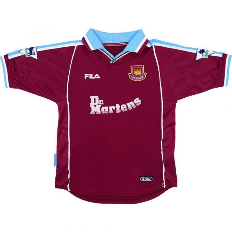 Maglia West Ham 1999-2000