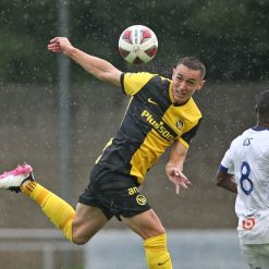 Young Boys divisa 2021-22 in campo