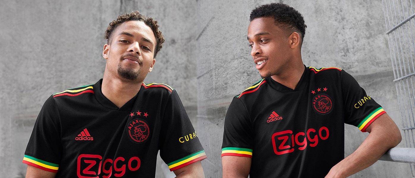 La nuova terza maglia dell'Ajax per Bob Marley
