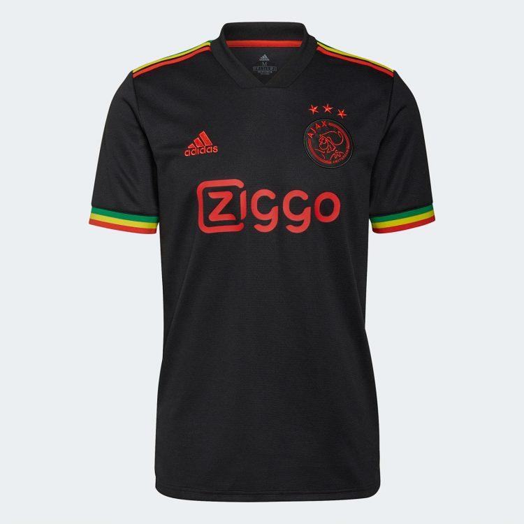 Terza maglia Ajax 2021-22 Bob Marley