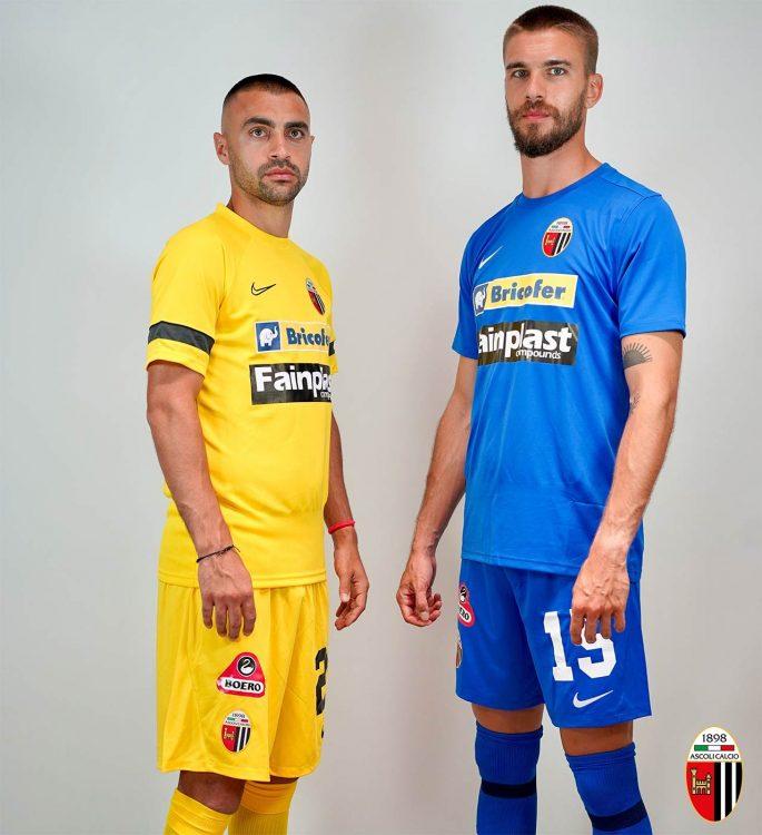 Terza e quarta maglia Ascoli 2021-2022