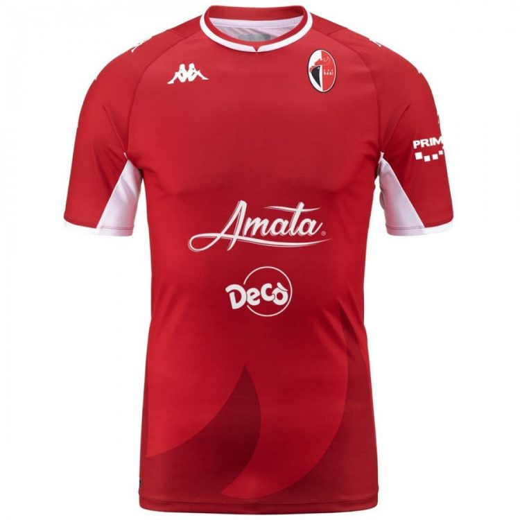 Seconda maglia Bari rossa 2021-2022