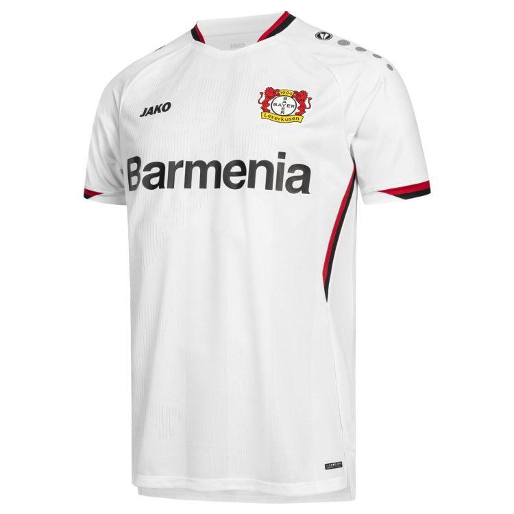 Maglia Bayer Leverkusen trasferta 2021-22