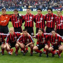 Leverkusen line-up