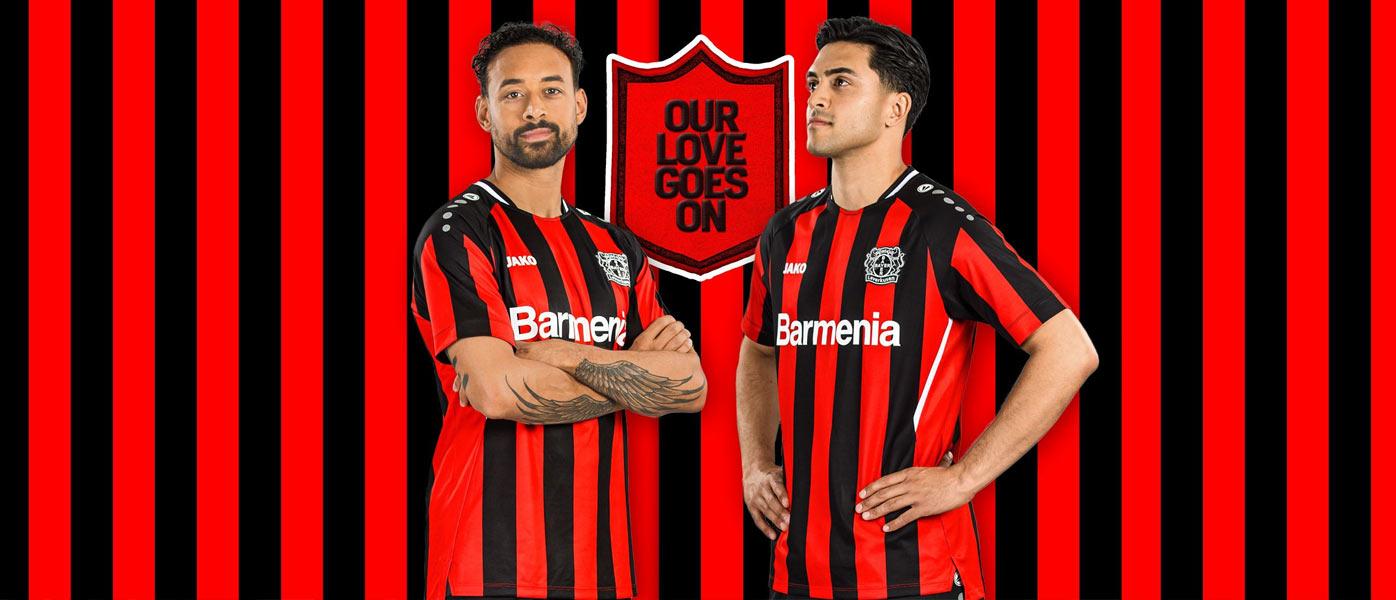 Le maglie del Bayer Leverkusen 2021-2022