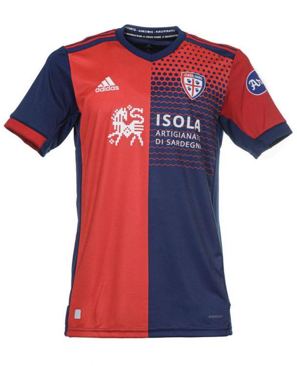 Maglia Cagliari 2021-2022 Adidas rossoblù