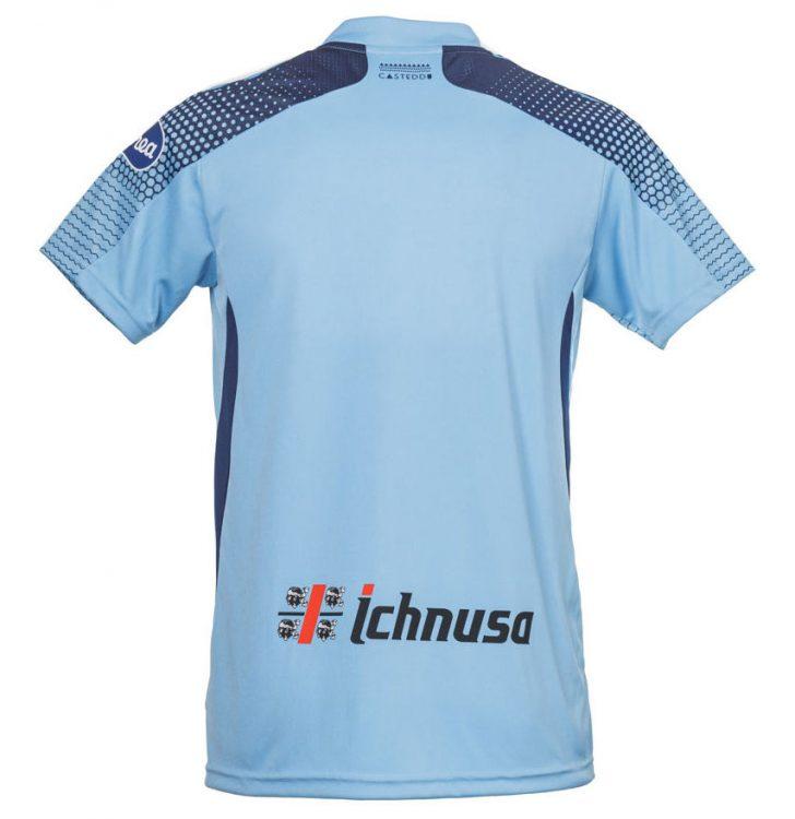 Retro terza maglia Cagliari celeste