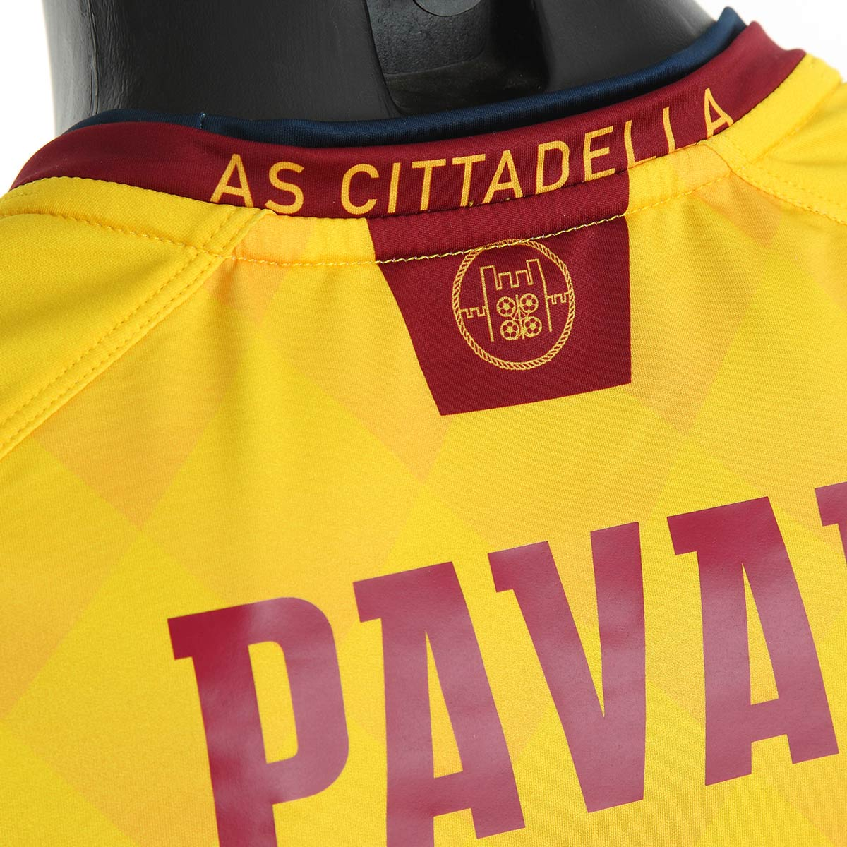 Retro seconda maglia Cittadella con il logo