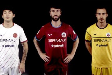 Le nuove maglie del Cittadella 2021-2022