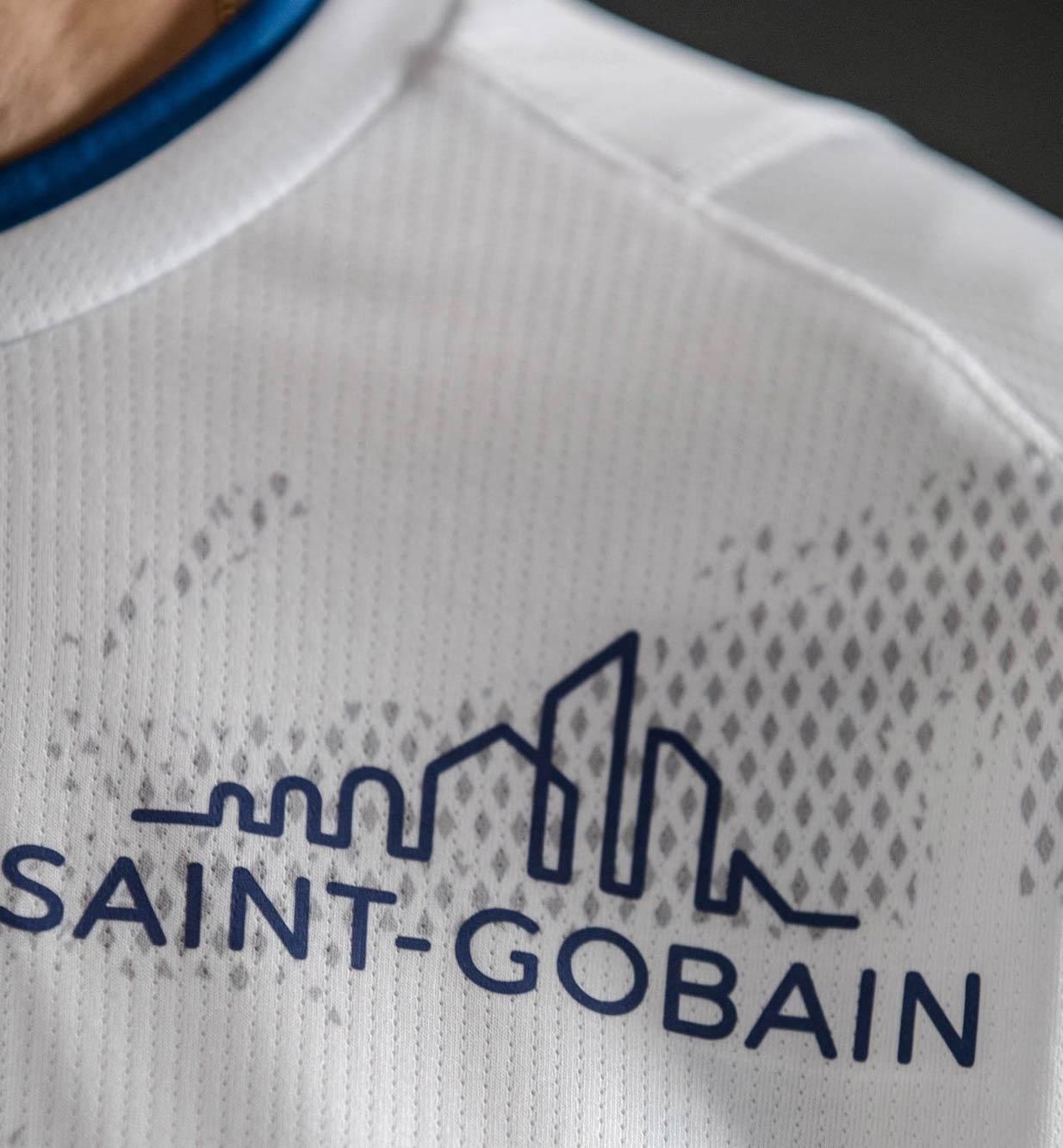 Sponsor Saint-Gobain Empoli maglia bianca