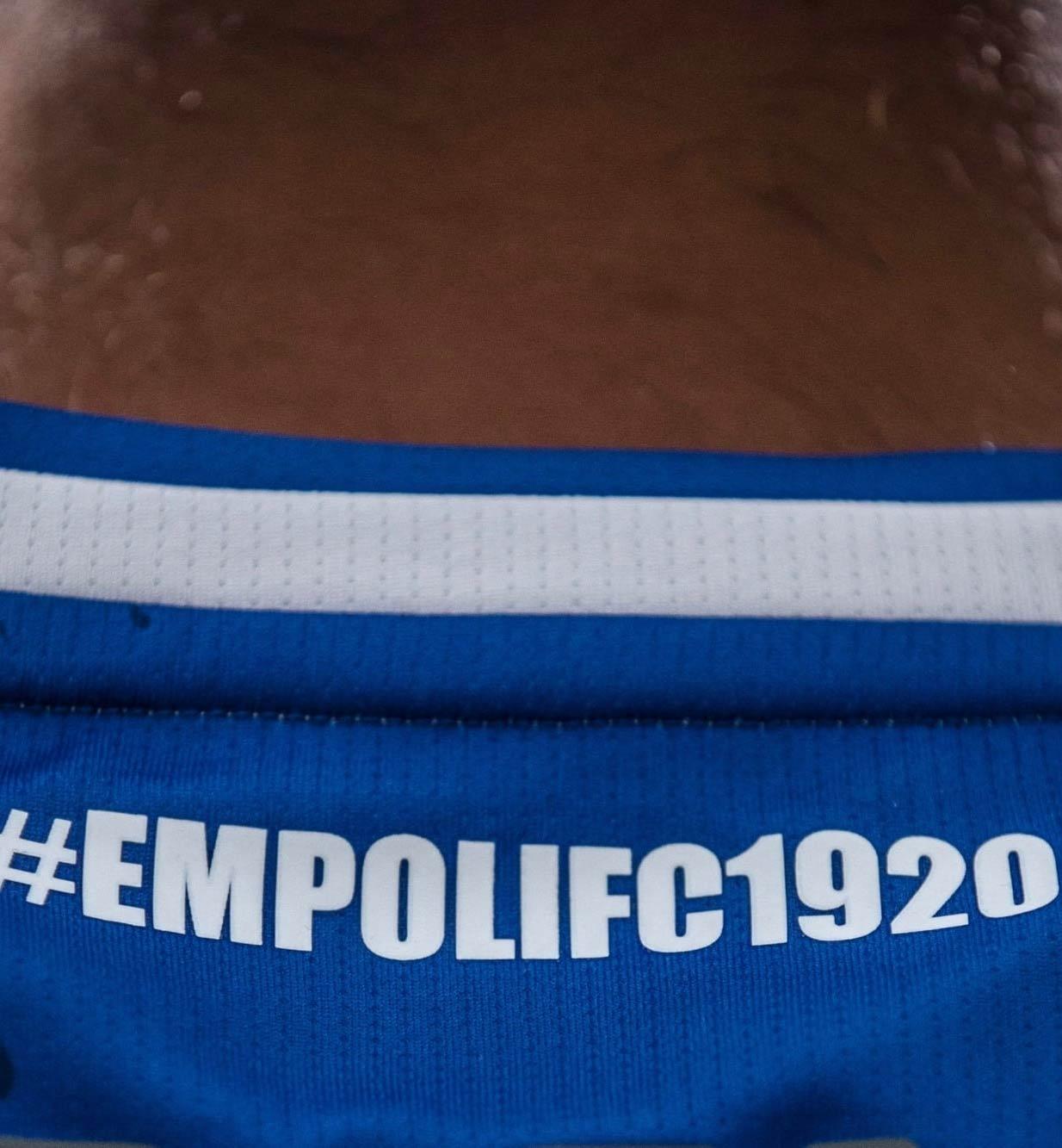Scritta EmpoliFc1920 retro colletto