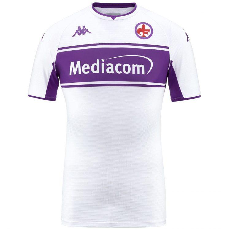 Seconda maglia Fiorentina 2021-2022 bianca