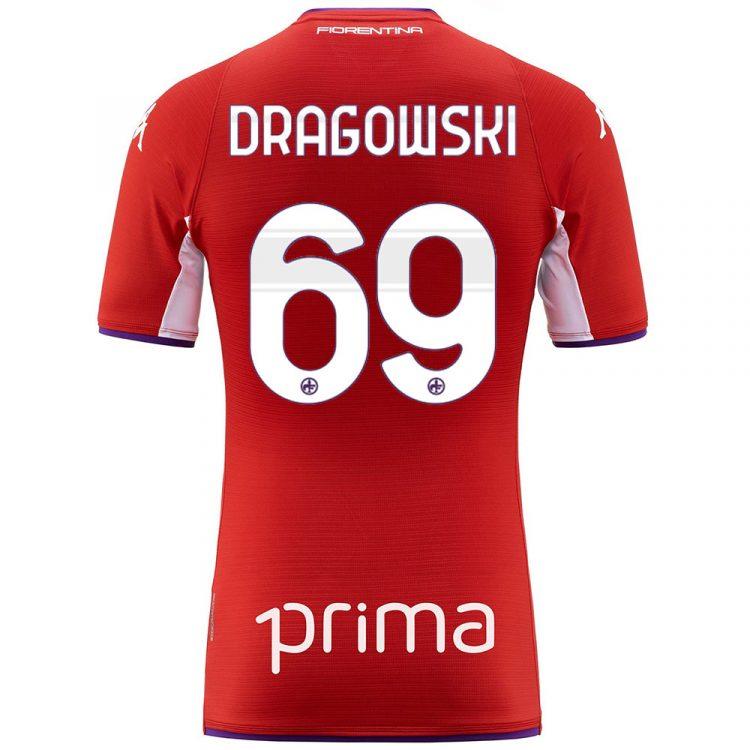 Fiorentina quarta maglia rossa Dragowski 69