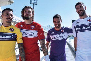 Le nuove maglie della Fiorentina 2021-2022