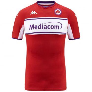 Quarta maglia Fiorentina rossa 2021-2022