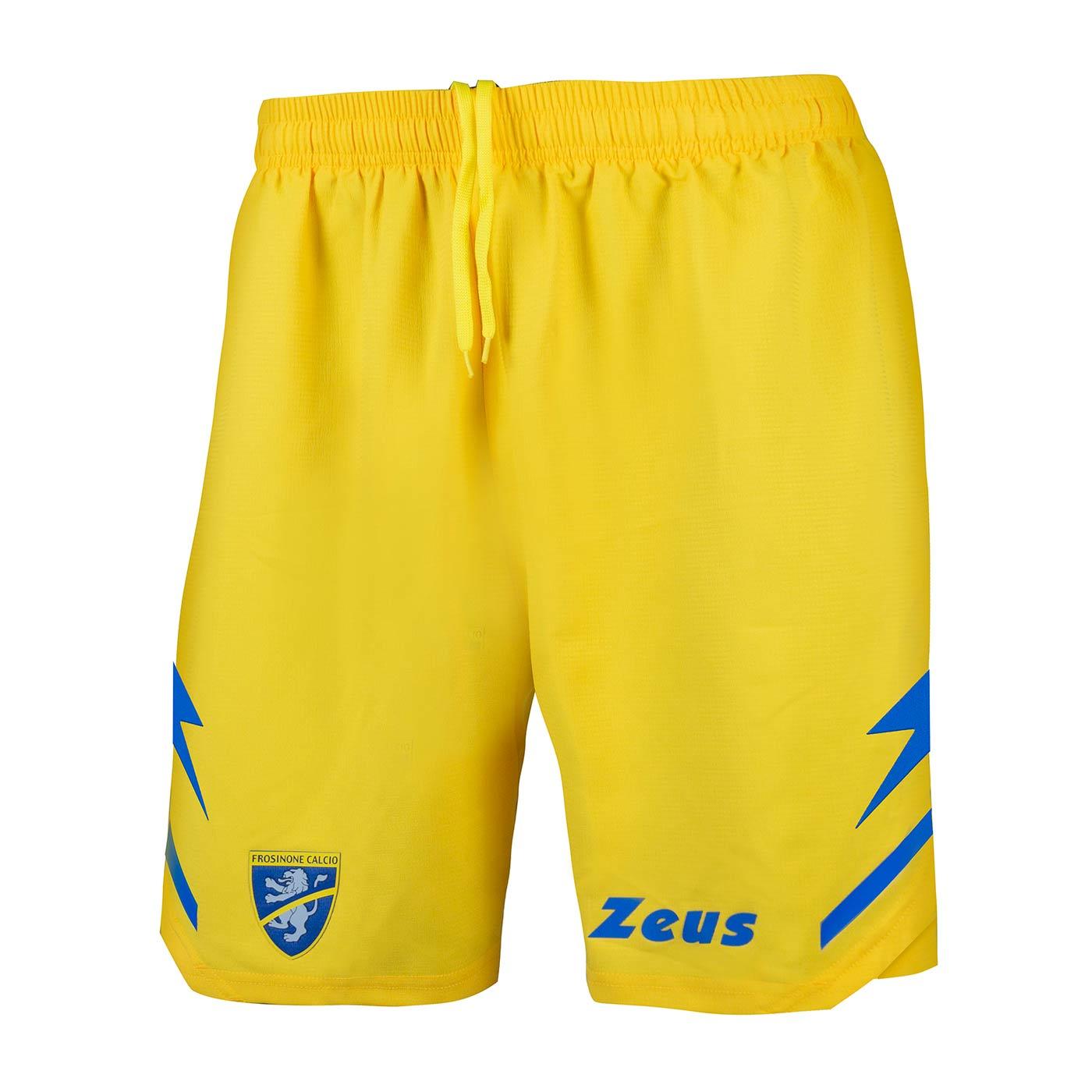 Pantaloncini Frosinone gialli home