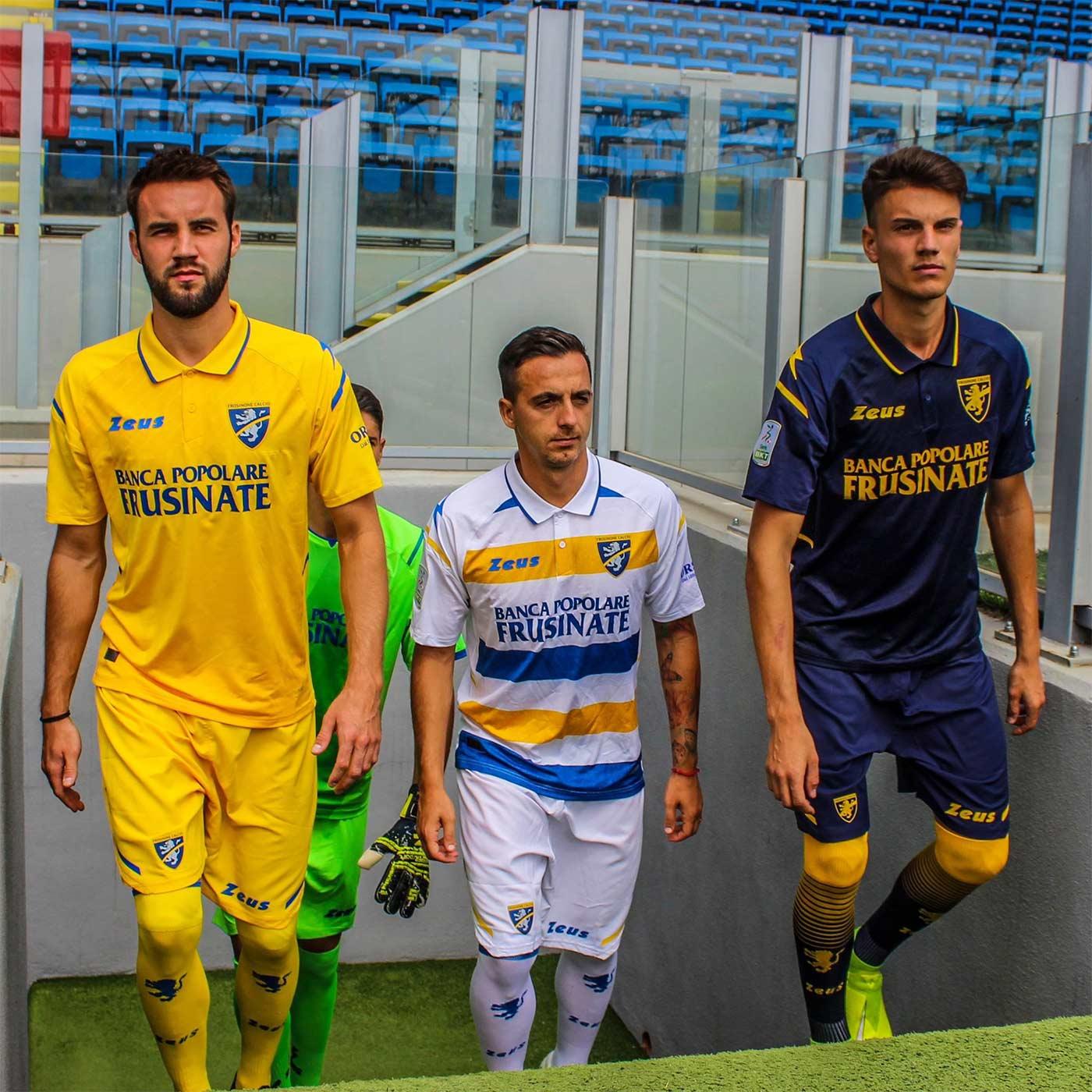 Frosinone maglie Serie B 2021-22