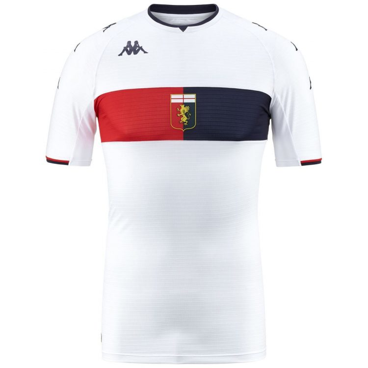 Seconda maglia Genoa 2021-2022 bianca