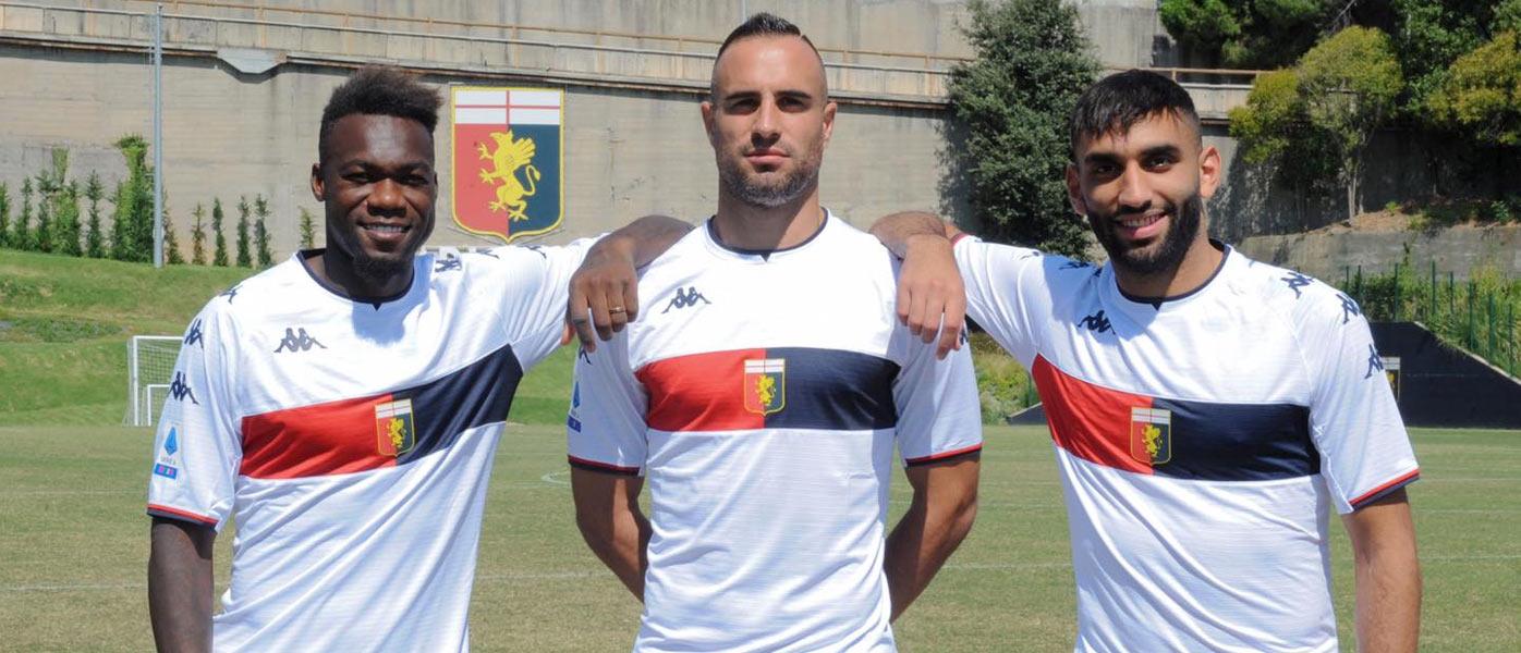 Nuova maglia Genoa away 2021-22