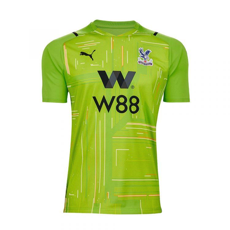 Maglia portiere verde Crystal Palace