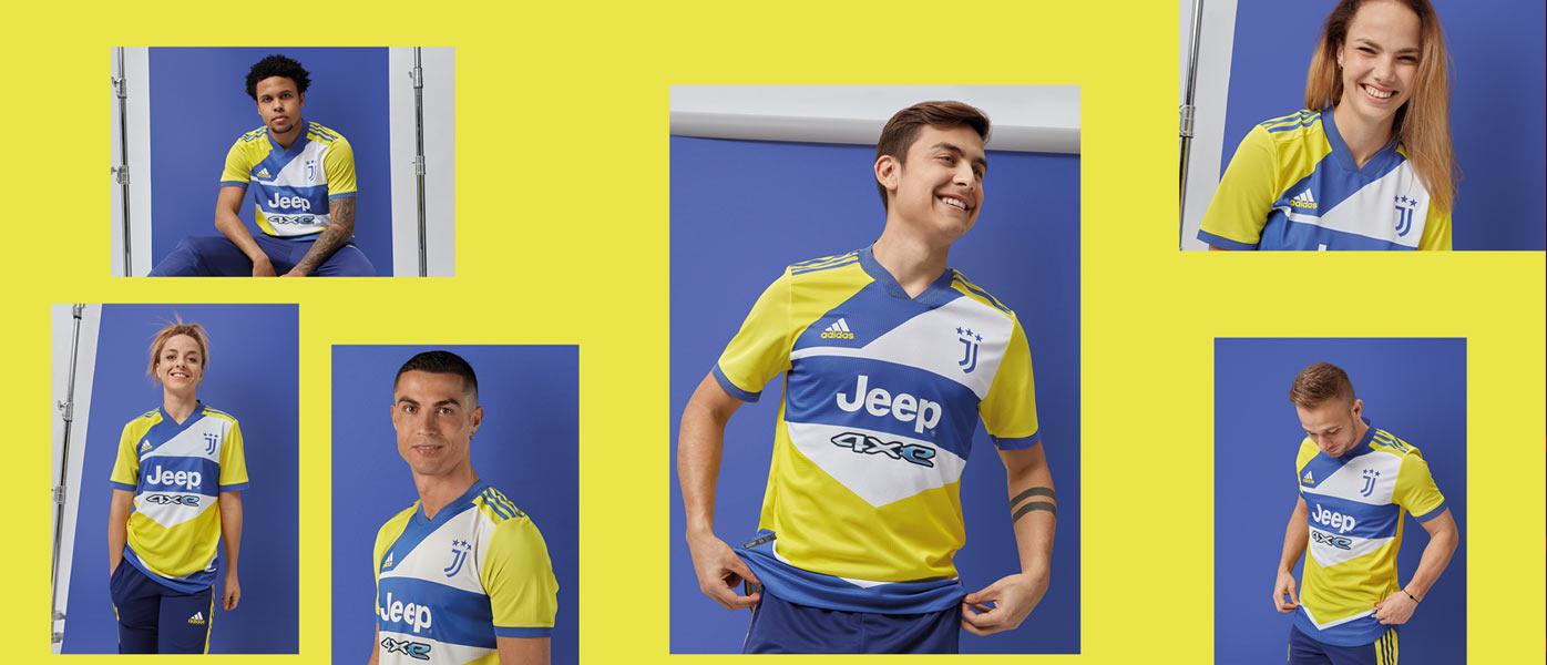 La nuova terza maglia della Juve 2021-22