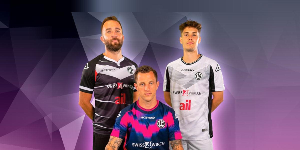Le nuove maglie del Lugano 2021-2022