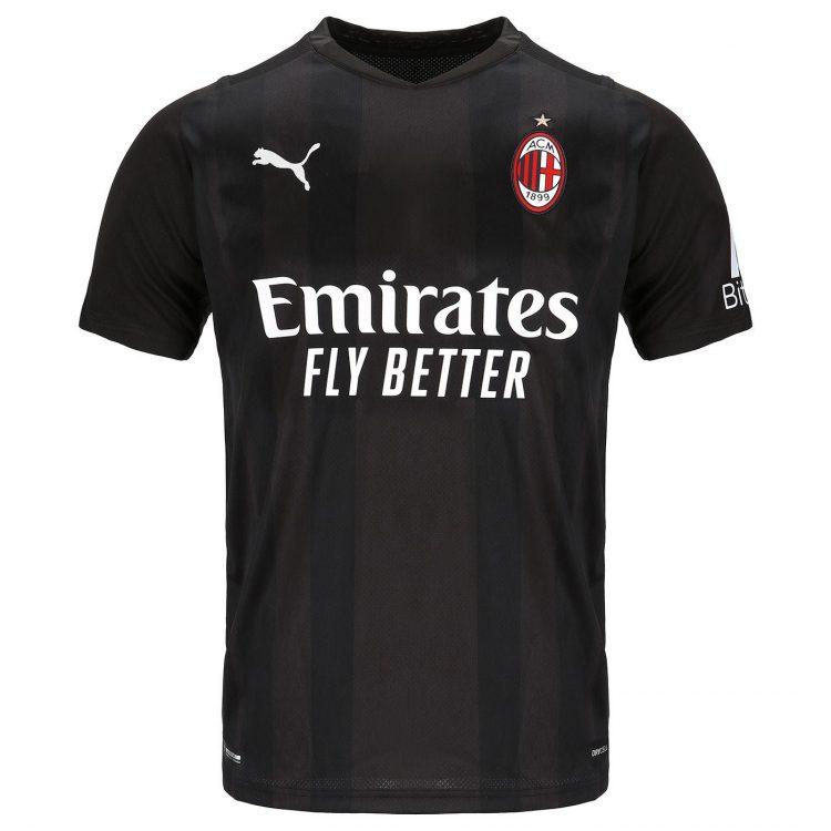 Maglia portiere nera Milan 2021-22