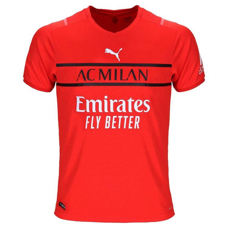 Maglia portiere rossa Milan 2021-22