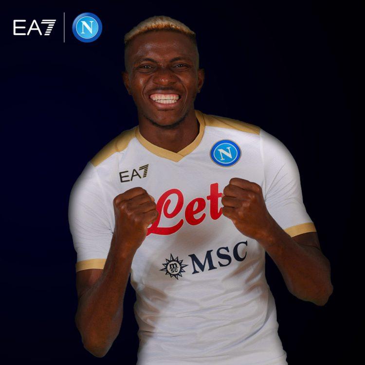 Seconda maglia Napoli 2021-2022 bianca