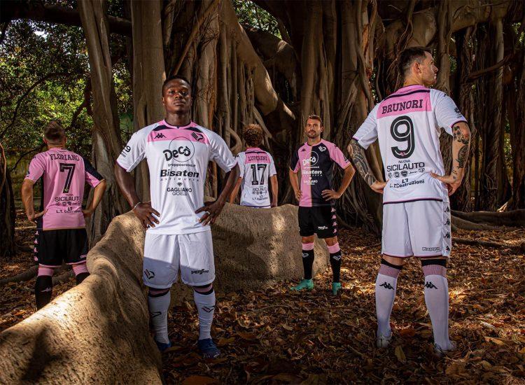 Palermo seconda maglia bianca 2021-2022