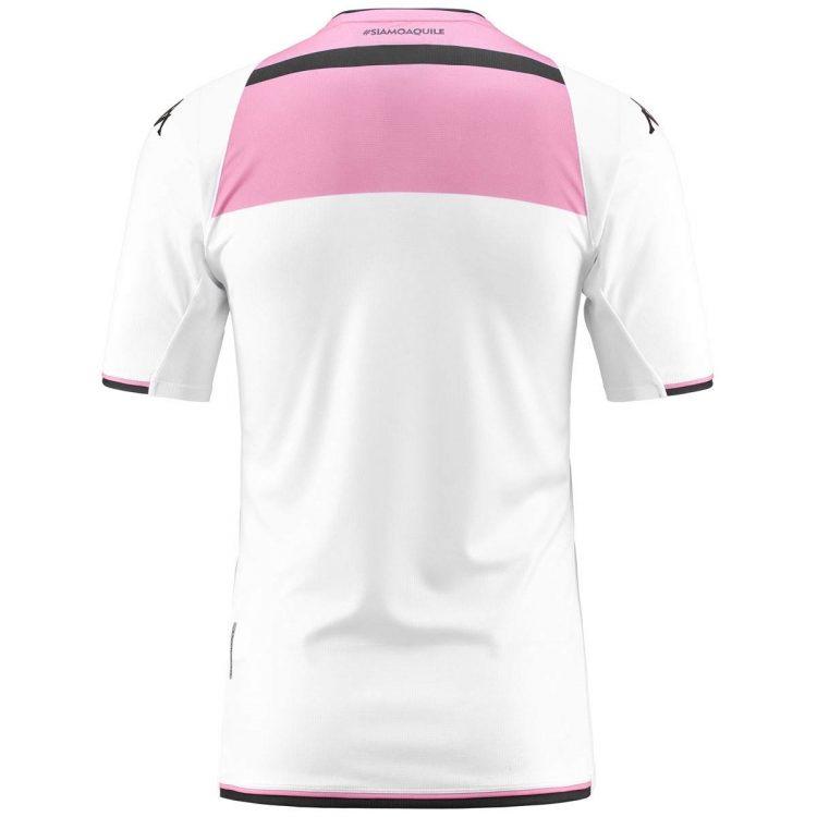 Seconda maglia Palermo bianca retro