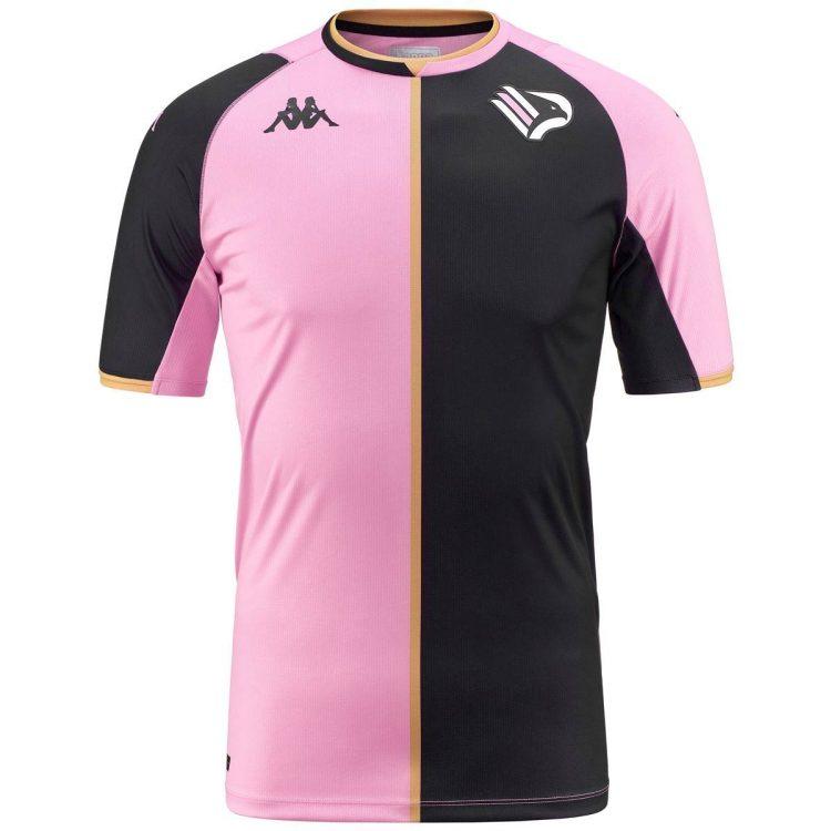 Prima maglia Palermo bicolore rosanero 2022