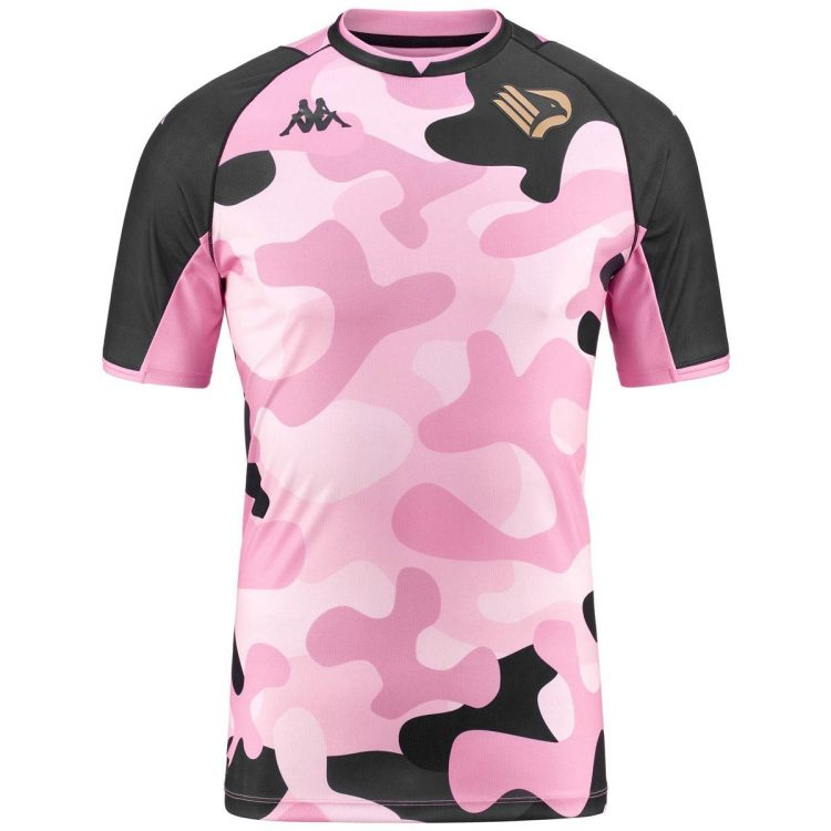 Terza maglia Palermo 2021-2022 camouflage rosanero