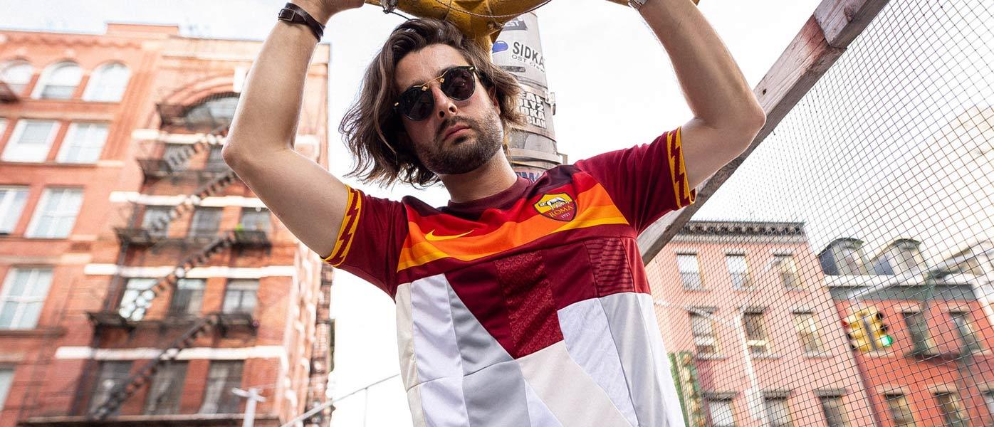 Maglia Roma mashup Nike