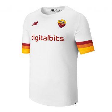 Seconda maglia Roma bianca 2021-2022