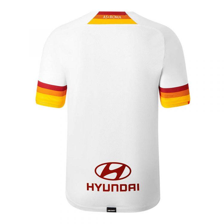 Seconda maglia Roma bianca 2021-2022 retro