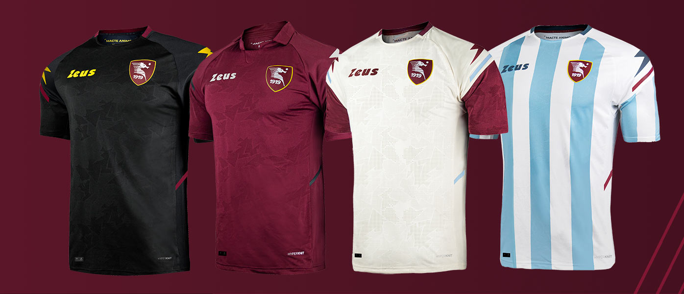 Le nuove maglie della Salernitana 2021-2022 Serie A