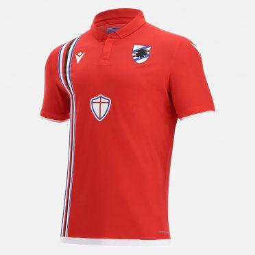 Terza maglia Sampdoria rossa