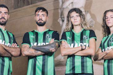 La nuova maglia del Sassuolo 2021-2022