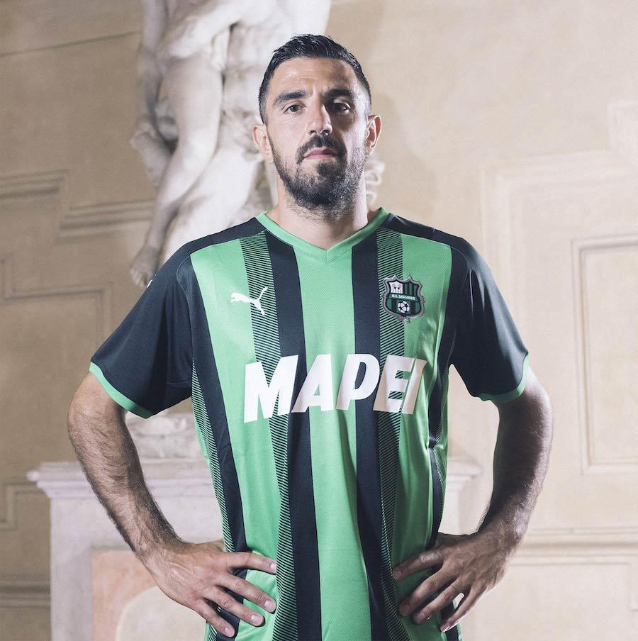 Sassuolo nuova maglia Serie A 2021-22