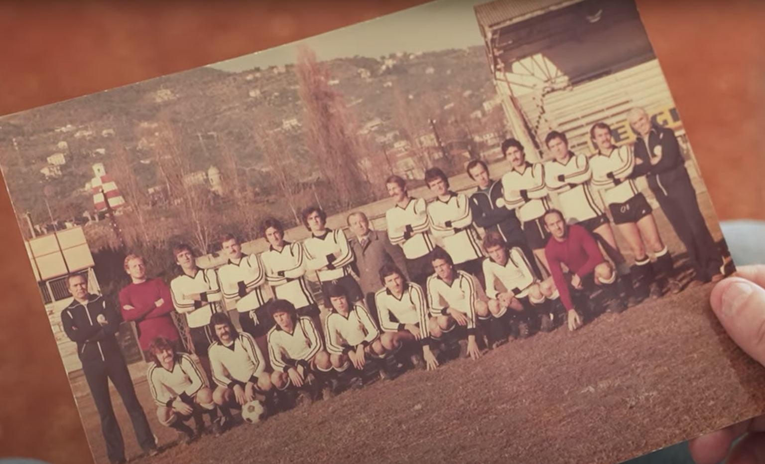 Maglia Spezia anni '70