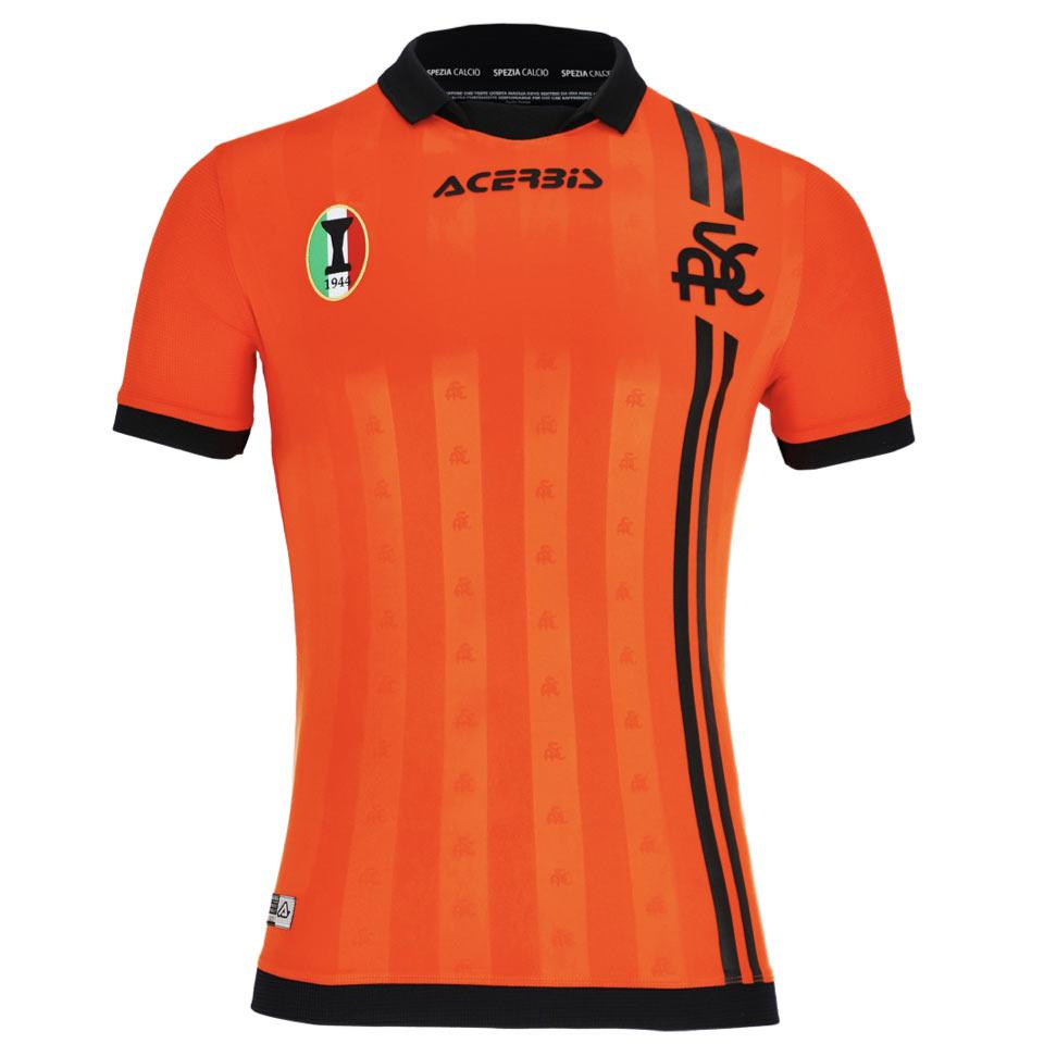Terza maglia Spezia 2021-2022 arancione